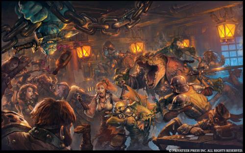 "conceptvault: "" Iron Kingdoms: Unleashed Lines by Andrea Uderzo Paints by Nestor Ossandon """