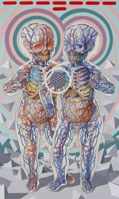 hushaby:Michael Reedy's Bold New Mixed-Media Works in 'Dear Future Self'   Hi-Fructose Magazine
