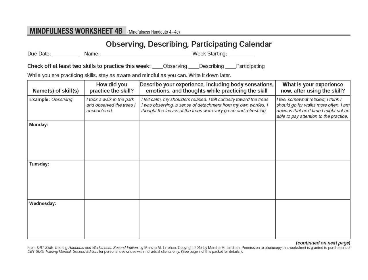 Worksheets Dbt Worksheets Atidentity Free Worksheets