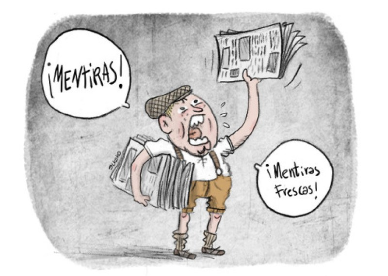 Mentiras frescas!! Viñeta en @politicahoyayer http://www.la-politica.com/las-mentiras-sobre-los-logros-sociales-de-franco-en-16-tuits/