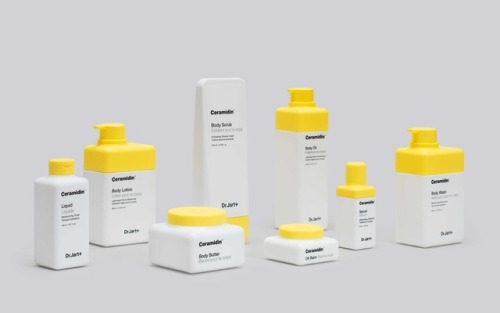 "tumblr_p2xnjiD8UQ1r5vojso6_500 Packaging for Dr. Jart+ through Pentagram""Bins and product... Design"
