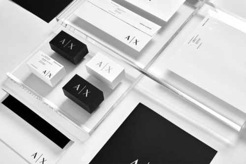"tumblr_ozjyb6MnCZ1r5vojso4_500 Brand Identity forArmani Exchange by Anagrama""In collaboration... Design"