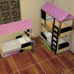 Routing Issue To Upper Mattress For Bunkbed Sims 4 Studio
