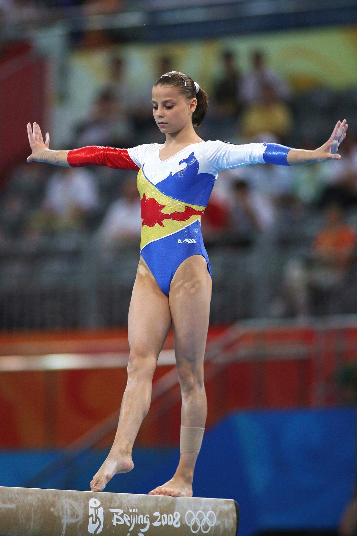picture Yelena Shushunova 2x Olympic champion (all-around, team)