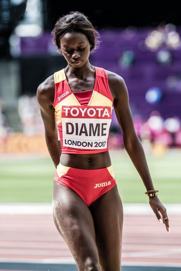 Fátima Diame (Spain) 2017 World Championships – Gymnastics