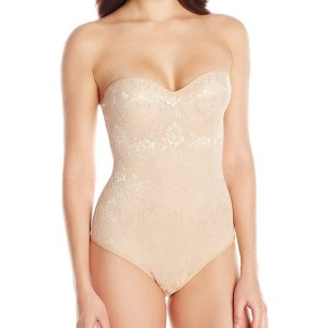 Women's Molded Cup All Over Lace Mesh Bodysuit. This allover jacquard lace bodysuit has molded…, July 15, 2018 at 07:12PM