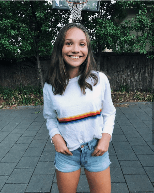 93fd364bed7 brandymelvilleusa   brandyusa. Posted on 16 01 2018 by Maddie Ziegler  Posted in brandy melville ...