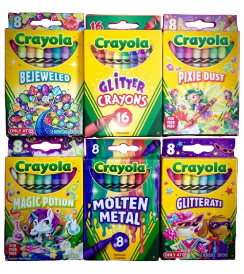 Rainbow Crayon Tumblr