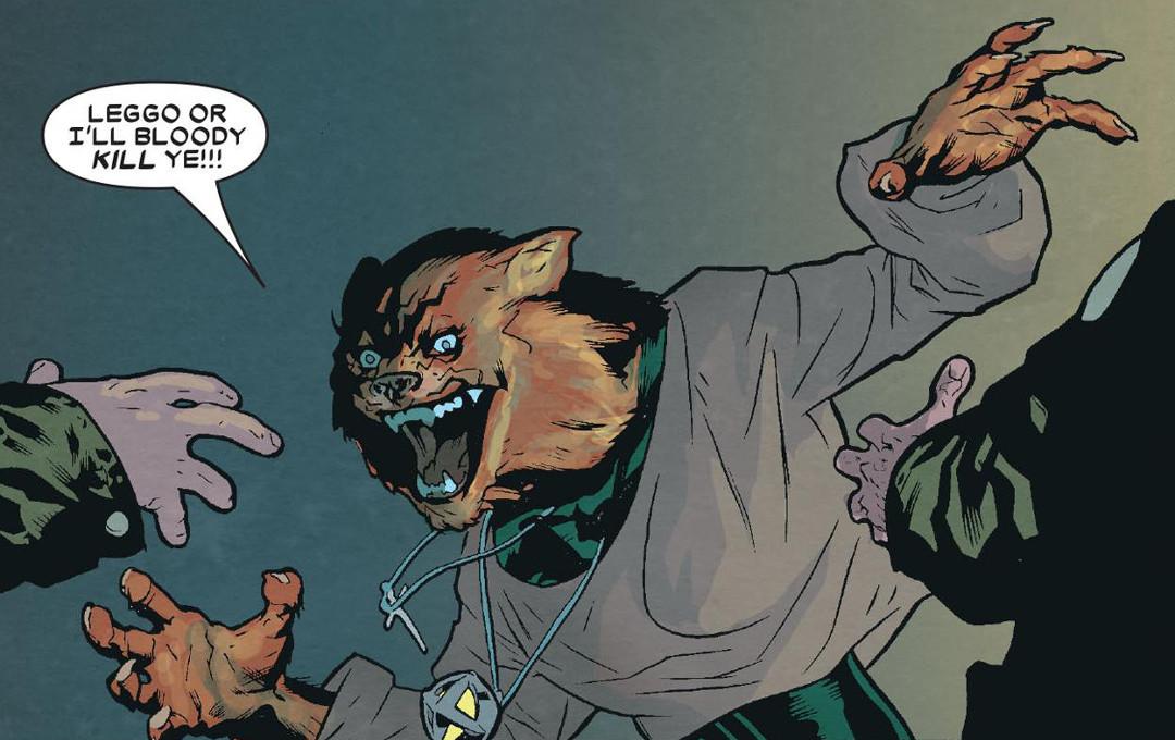 """Rahne """"Wolfsbane"""" Sinclair – X-Men"""