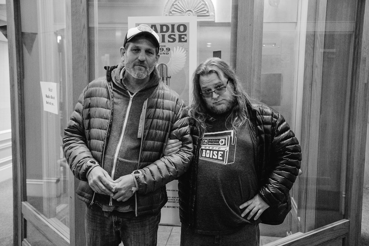 The V3 Crew: Wayne Birt and Gabe Dunn.