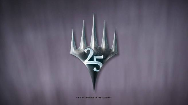 Image result for magic the gathering 25 years anniversary