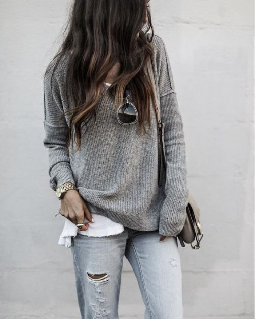 $14.86 Grey knit jumper. Get it »here« !