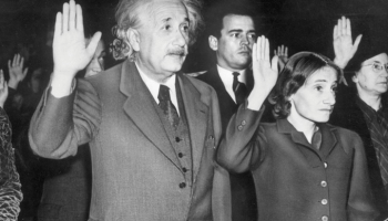 Albert Einstein and Luigi Pirandello meet in N… – History