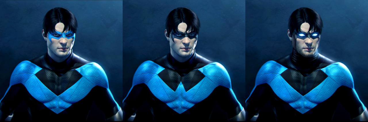 Young Justice Nightwing Concept Art