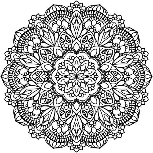 mandala coloring page  tumblr