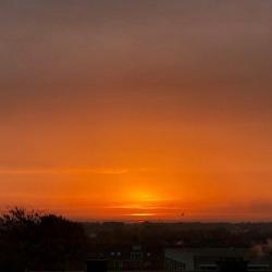 #sunrise #morning #orange #light (bij Venlo City)