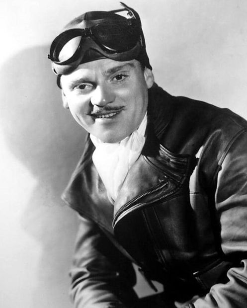 James Cagney as Dizzy Davis in a publicity still for Ceiling Zero (1935)