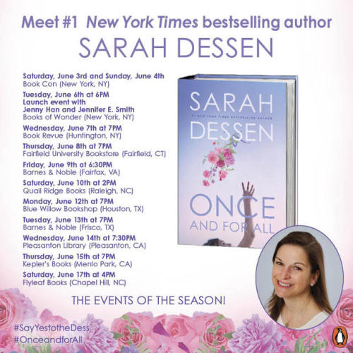Dessen And Once Sarah All
