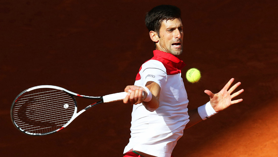Novak's draw at the Internazionali BNL d'Italia 2018: