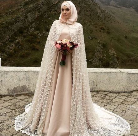 Check out these wedding Hijab styles that are stunning!