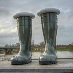 #venlo #hoogwater (bij Venlo City)