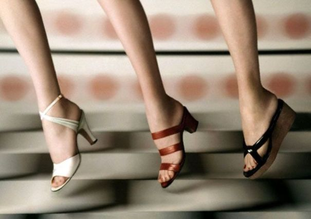 3877b9ce17b9 27 fabulous photos that show the hottest shoe trend for women… – History