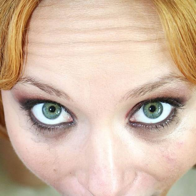 #photooftheday #instagood #instafashion #eye #hair #hairstyle #instahair #hairfashion #freckle #relaxation #redhead (presso Figa, Košický, Slovakia)