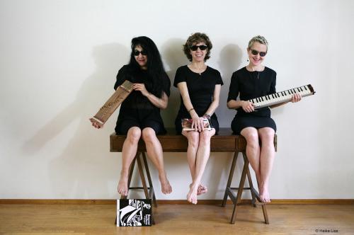 Myra Melford, Zeena Parkins, Miya Masaoka