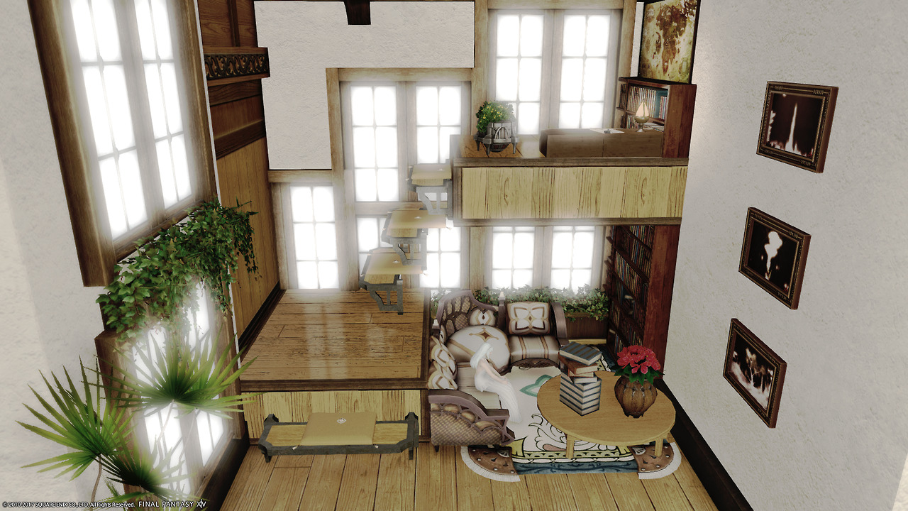 Alices House Designs In Final Fantasy XIV Flora Erumuruss House Designed By Alice