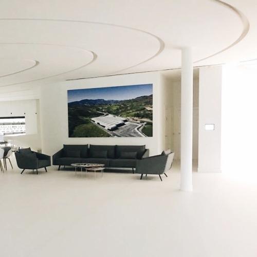 tumblr_pbai77FElA1qfx0suo3_500 stua:  STUA has just furnished the new factory of Irizar with... Contemporary