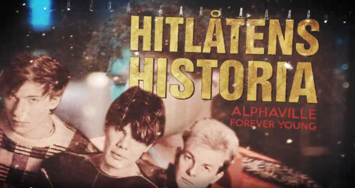 Timetravel con Alphavill de vuelta a la comunidad de Nelson La cadena de televisión sueca SVT2 emitió una increíble función de 30 minutos sobre la canción