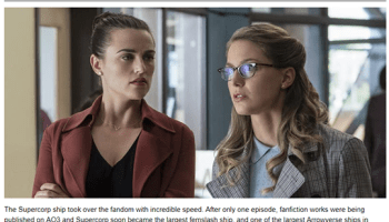 Kara and Lena at the very top of Top 10 Nerd'… – Supergirl