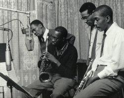 blowmyblues:  George Morrow / Hank Mobley / Max Roach / Kenny Dorham 1957