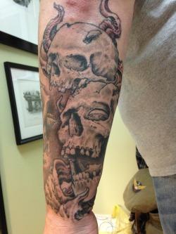 Jay&rsquos skulls.