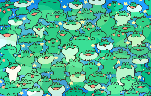 late last year I made this big ol' frog print for one of my classes! it was really fun, especially since we had to make it so big. The full-size print I have on my wall is 22x14 and it's only slightly smaller than my cork board that's under...