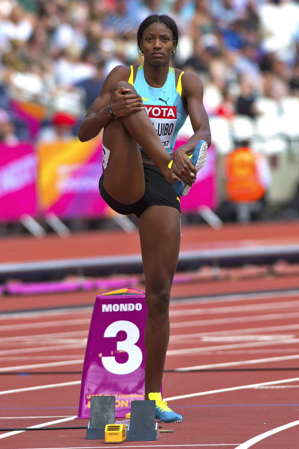 Shaunae Miller (Bahamas) 2017 World Champions…
