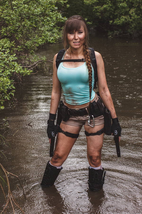 A little smile in the rain + NEWS by sariruoskanen  Check out http://hotcosplaychicks.tumblr.com for more awesome cosplayWe're on Facebook!https://www.facebook.com/hotcosplaychicks