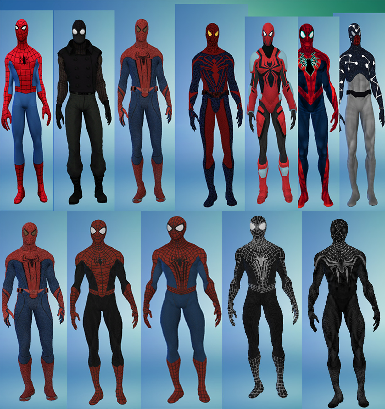 The Sims 4 ATUALIZADO 612017 Spidermans Amp Spider
