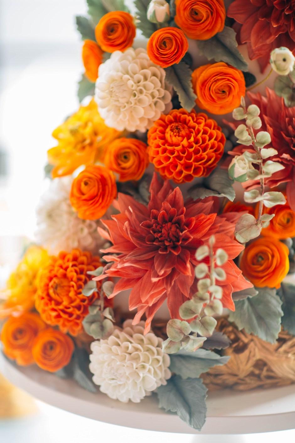 The Mischief Maker I Cakes, Sugar Flowers, Luxury Dessert Environments