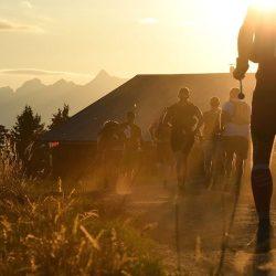 Ultra Trail du Mont Blanc scenery.