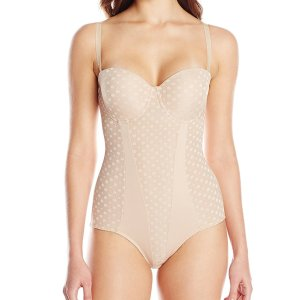 Heavenly Shapewear Women's Molded Cup Dot Bodysuit. This polka dot jacquard molded cup bodysuit…, February 12, 2018 at 04:48AM