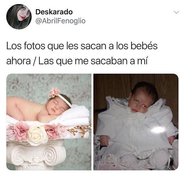 Qué bebé más mono