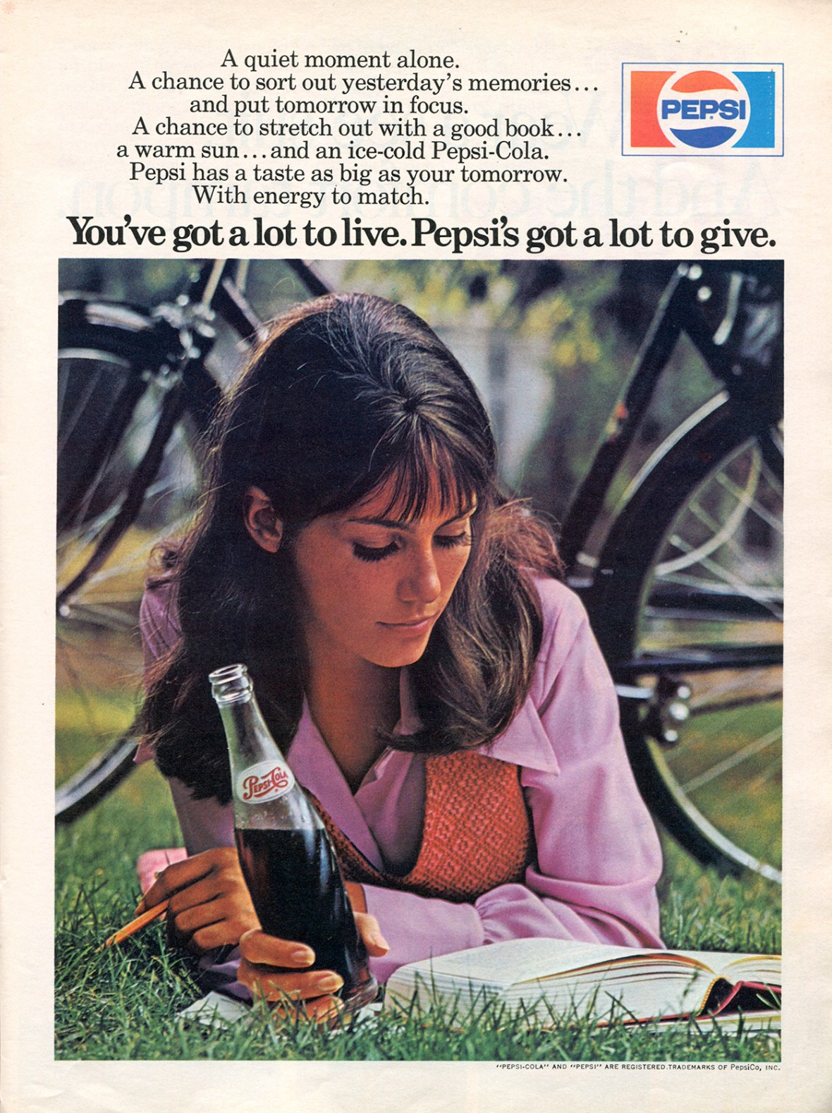 Pepsi-Cola - published in Teen - June 1971