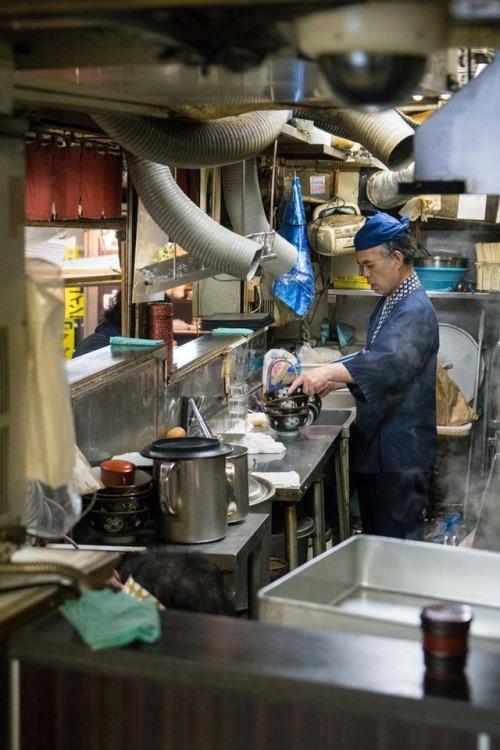 Ramen Kitchen down in the Tokyo Metro, Asakusa Station