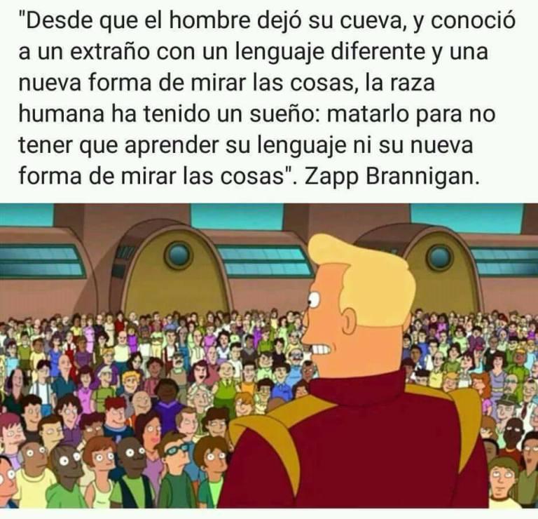 Frase de Futurama