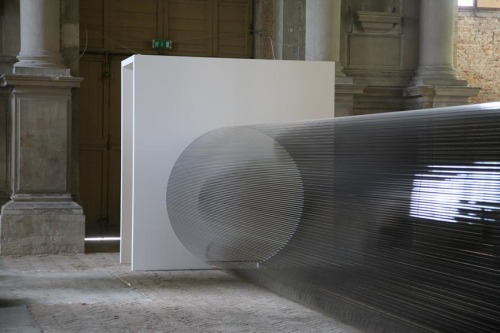 tumblr_mt2c9lnsgD1qfc4xho2_r1_500 Zilvinas Kempinas artist from Lithuania, Tube, 2008 in Venice... Contemporary
