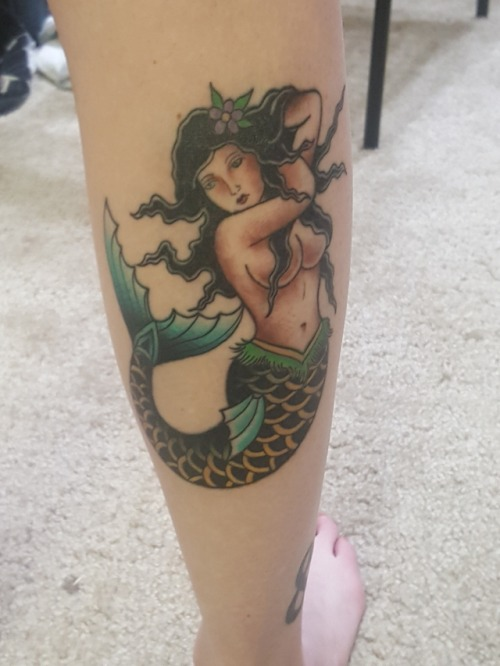 tumblr oxhvf1REly1qzabkfo1 500 - Mermaid tattoo