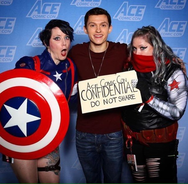 Meet amp greets at ace comic con tom holland meet amp greets at ace comic con m4hsunfo