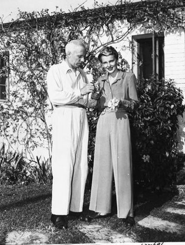Howard Hawks with his second wife Nancy Gross aka Slim.
