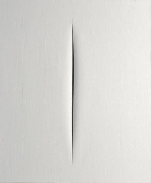 tumblr_ocvcs0Tl7K1qfc4xho1_500 Lucio Fontana, Concetto Spazialle Contemporary